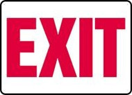 Exit Sign- red