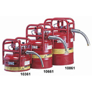 "D.O.T. Type II Safety Can- 5 Gallon w/ 1"" Hose- Red"
