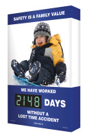 Safety Scoreboard- Building The Future- this Digi Day Counts Down