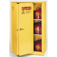 Eagle 45 Gallon Flammable Storage Cabinet-Sliding Self Close