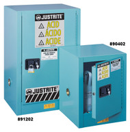 Justrite Corrosive Safety Cabinet- 4 gallon Manual Door