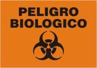 Peligro Biologico - Spanish Safety Sign