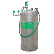 Haws 7601.37 Portable Pressurized Eyewash- 37 Gallon w/ Body Spray- Air Pressure Operated