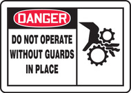 Danger - Do Not Operate Without Guards In Place 1