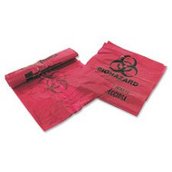 Bio Hazard Bags  7-10 Gallon Capacity 25/Roll