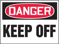MEQM194 Danger Keep Off Big Safety Sign