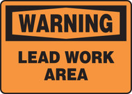 Warning - Lead Work Area