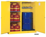 Justrite Double Duty Safety Cabinet- 115 Gallon 1