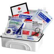 Basic First Aid Kit - Filled- 96 pieces
