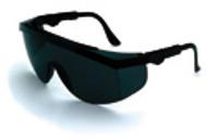 Crews Safety Glasses  Tomahawk Black Frame/ Gray Lens (12 Pair)