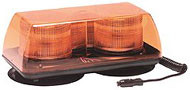 Ecco Strobe Light Bar Amber/ Vacuum Mount