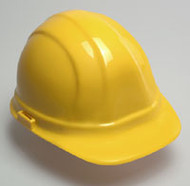 Hard Hat w/ 6 Point Suspension- Yellow