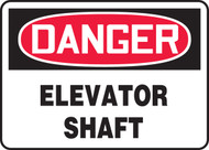 Danger - Elevator Shaft