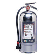 Badger Wet Chemical and Water Fire Extinguisher- 6 Liter with wall hook