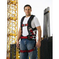 Edge 3D Fall Protection Harness with Quick Connect Chest and Quick Connect Legs XXL