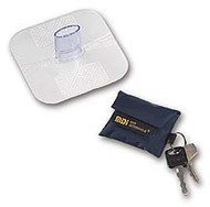 CPR Shield - MDI CPR Key Chain Mask - Black