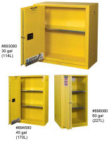 Justrite Sliding Door Flammable Storage Cabinet  45 gallon