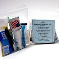 Personal Hygiene Kit -Male | 10 Kits Per Order