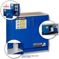 Corrosive Safety Cabinet- Blue Wood Laminate