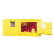 Justrite Piggyback Safety Cabinet- 12 Gallon