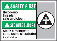Safety First Help Keep This Plant Safe And Clean (W/Graphic)