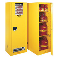 Justrite Slimline Flammable Storage Cabinet  -22 gal.