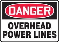 Danger - Overhead Power Lines