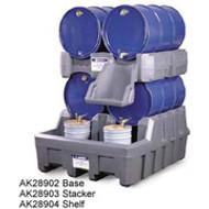 Justrite Drum Management System- Dispensing Shelf- Gray