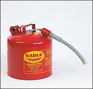 Eagle Type II Safety Can 5 Gallon w/ O.D. Flex Spout