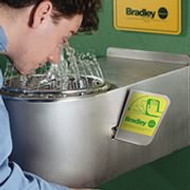 Bradley S19-220BF Barrier Free Emergency Eyewash Station
