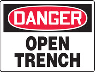MCSP192 Danger Open Trench Sign