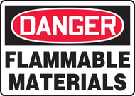 Danger - Flammable Materials