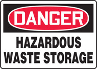 Danger - Hazardous Waste Storage