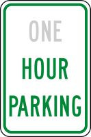 Hour Parking Sign- Semi Custom