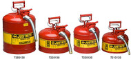 "Type II Accuflow Safety Can 5 Gallon w/ 0.625"" Diameter  Hose"