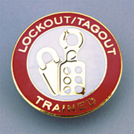 Lockout/tagout Trained Badge