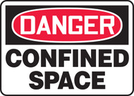 Danger - Confined Space Sign