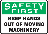 Safety First - Keep Hands Out Of Moving Machinery