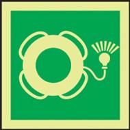 IMO Sign- Life Buoy with Light