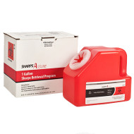 Sharps Retrieval Program- 1 Gallon