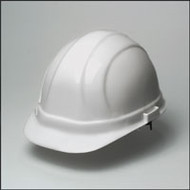 Hard Hat with Ratchet - White Hard Hat