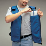 Flame/ Heat Retardant Cooling Vest for Cooling Inserts -LG