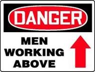 Danger Men Working Above 1