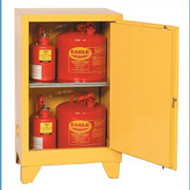Eagle 12 Gallon Flammable Storage Cabinet with legs
