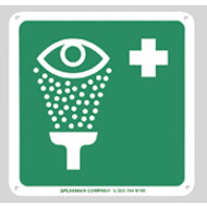 Emergency Eyewash Sign by Speakman