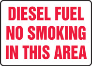 Diesel Fuel No Smoking In This Area