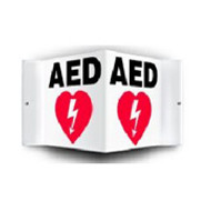 AED Wall Sign 3D 1