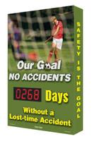 Electronic Safety Scoreboard Digi Day- Soccer SCA268