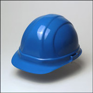 Hard Hat w/ 6 Point Suspension- Blue Hard Hat