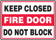 Keep Closed Fire Door Do Not Block